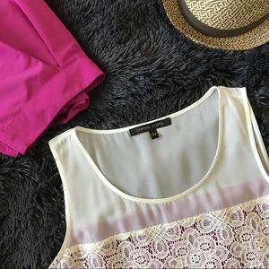 NWT Cynthia Steffe Hot Orchid Top